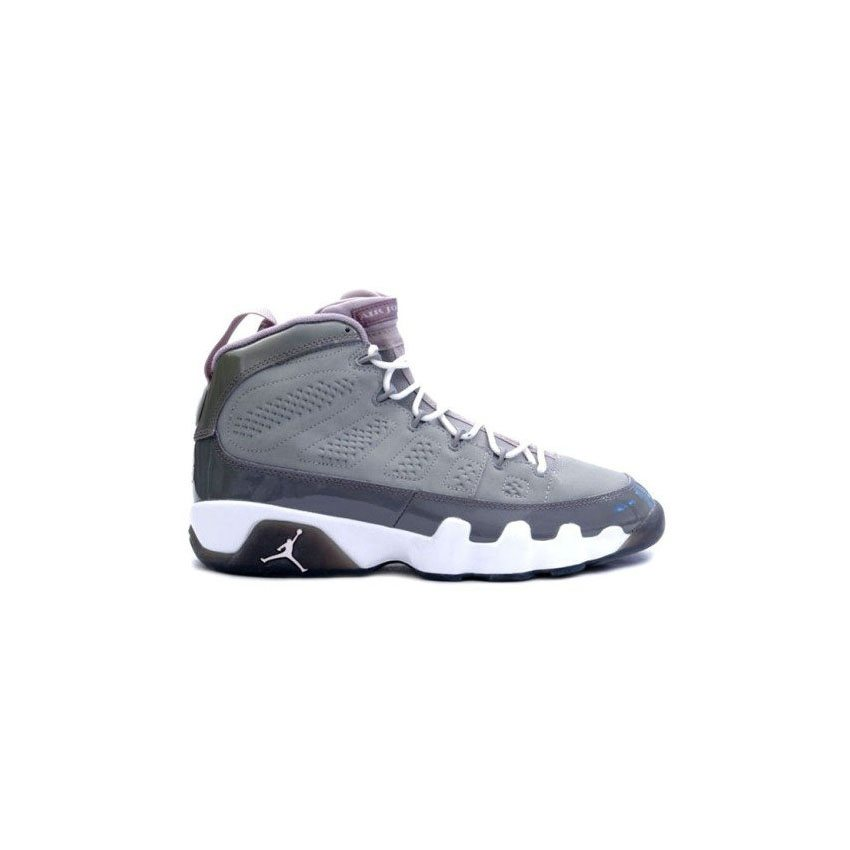 de5378ae80c6 302370-015 Air Jordan 9 (IX) Retro Medium Grey White Cool Grey A09005