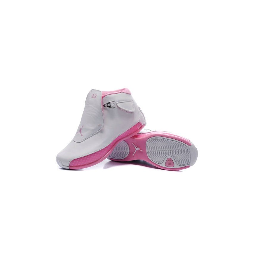 ee0b47b9765dd7 ... france 313038 162 air jordan 18 original og white women pink a24015  e2609 7aec2