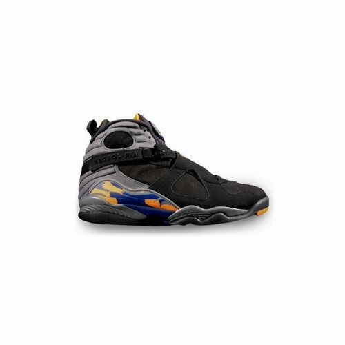 buy online 0758a ec29e 305381-043 Air Jordan 8 Retro Phoenix Suns Black Bright Citrus-Cool Grey- Deep Royal, Air Jordan Retro 10, Jordan Retro 10 Shoes
